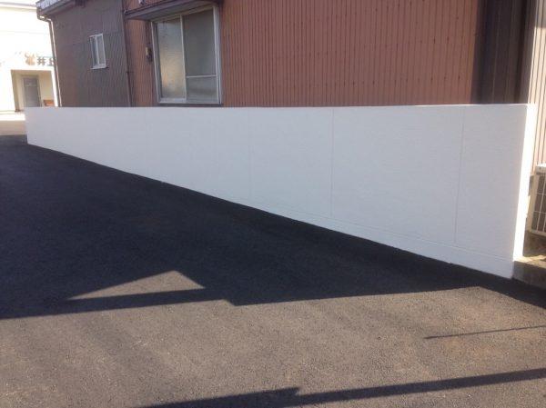 朝倉市 擁壁塗装工事