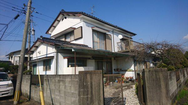熊本県八代市 外壁塗装工事