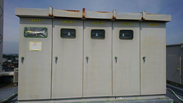 電気設備塗装工事