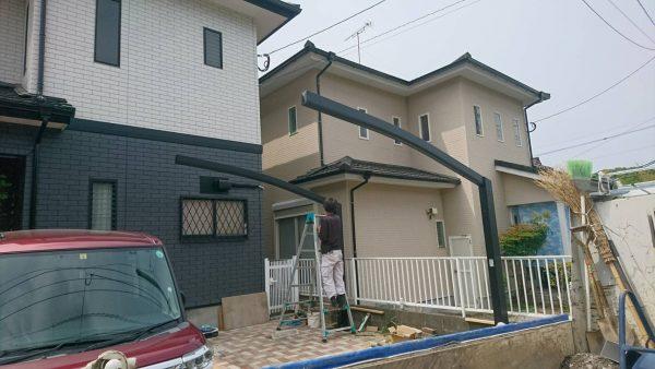 福岡 カーポート工事