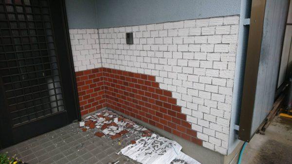 福岡県糟屋郡 板壁工事