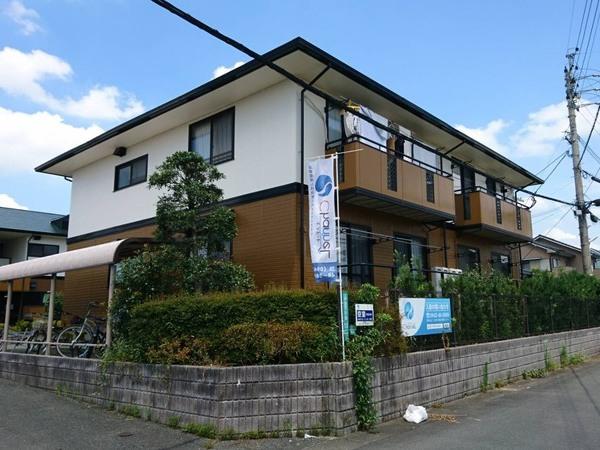 福岡県久留米市 外壁塗装工事