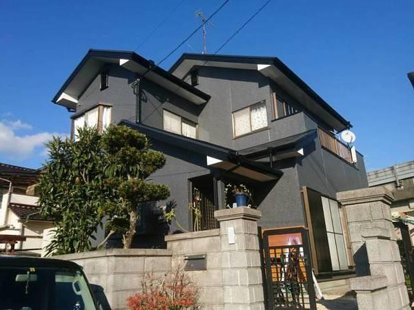 福岡県糟屋郡 シリコン塗装