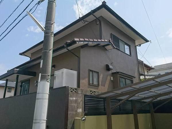福岡県春日市 シリコン塗装工事