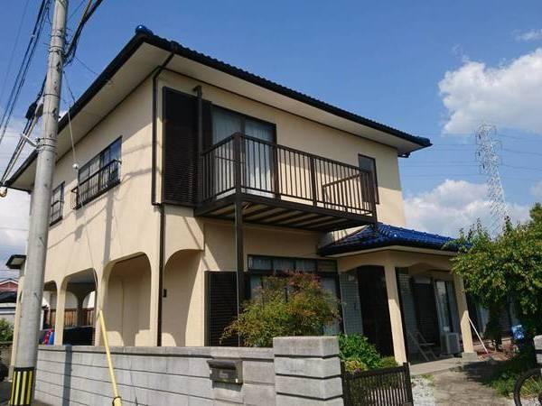 福岡県大牟田市の外壁塗装工事